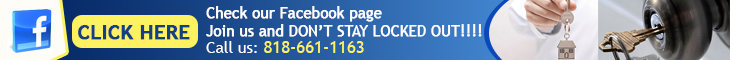 Join us on Facebook - Locksmith Sherman Oaks